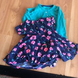 Toolder girl carter 2 Piece Dress